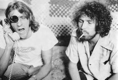 Glenn Frey and Don Henley of the Eagles, pictured in LA in 1975 Eagles Songs, Eagles Band, Eagles Music, History Of The Eagles, Stephen Stills, Glenn Frey, Jackson Browne, Laurel Canyon, Oral History