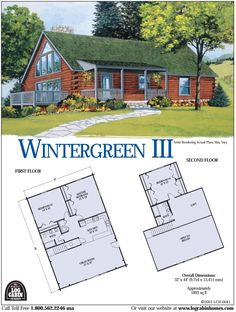 Log Cabin Home Floor Plans