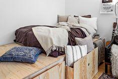 Декор маленьких квартир: 6 идей, которые помогут визуально добавить пространства даже самым маленьким помещениям. Декор стен, предметы, мебель.