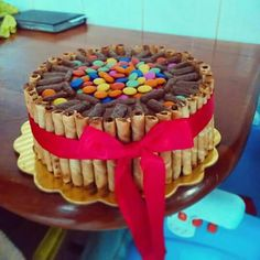 Cake with pirulin and Dandys