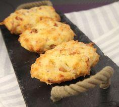 Recette de Madeleines salées aux lardons et 3 fromages