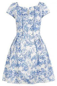 porcelain toile dress - Google Search