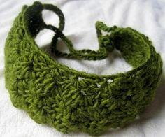 Crochet headband pattern - Free ❥Teresa Restegui http://www.pinterest.com/teretegui/❥