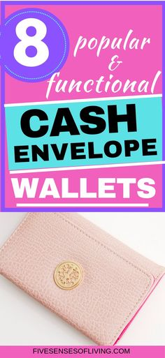 8 Chic Cash Envelope Wallets For Gaining Control Of Your Money f making a change meant the differenc Dave Ramsey Envelope System, Envelope Budget System, Cash Envelope System, Budget Envelopes, Money Envelopes, Budgeting System, Budgeting Tips, Cash Wallet, Budget Planner