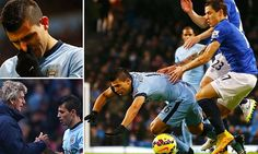 Sergio Aguero out for up to six weeks... are Man City a one-man team?