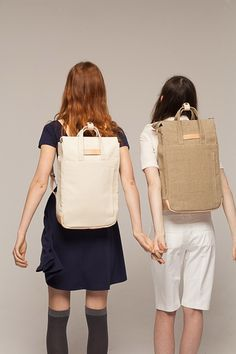 Spring Sale: up to 40% off! Handle Backpack Raw Natural