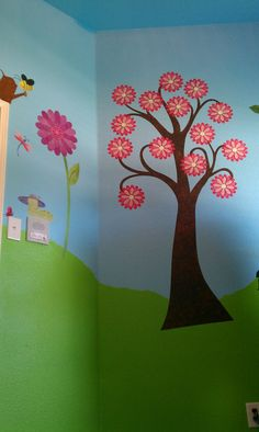 I decorated my toddlers room with wall stickers from mywonderfulwalls.com.