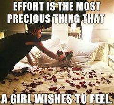 No matter how small...effort trumps c all