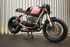 When I am gauging my interest in a custom motorcycle, the first thing I look at is how different it is than other bikes I would see on the road. The Chalcolithic Café Racer – BMW R100 R Mystic, passes that initial test with flying colors. Well, flying copper-color to be precise. With a chassis made entirely of cloaked copper, …