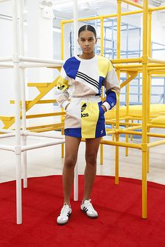 adidas originals by Daniëlle Cathari Fall 2018 Fashion Show Sport Fashion, Fashion Brand, Fashion Show, Fashion Outfits, Fashion Design, Fashion Clothes, Burning Man, Sport Outfits, Trendy Outfits
