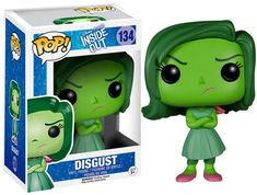 Forbidden Planet Inside Out Disgust Disney-Pixar Pop! Vinyl Figure - The Inside Out Disgust Disney-Pixar Pop! Vinyl Figure features the disapproving emotion voiced by Mindy Kaling and measures approximately 3 tall. Disney Pop, Disney Pixar, Film Disney, Disney Movies, Funk Pop, Figurine Disney, Pop Figurine, Disney Inside Out, Pop Vinyl Figures