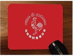 Sriracha Mouse Pad