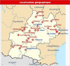Commanderies templières en Midi-Pyrénées, France                                                                                                                                                     Plus
