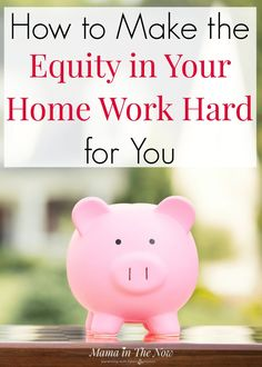 Learn how to make the equity in your home work hard for you. These tips will help you and your household with money management! Teach yourself and your family how to manage money. Try these home equity financing tips with LendingTree. Time Management Planner, Money Management, Best Money Saving Tips, Saving Money, Home Equity Loan, Saving For College, Family Budget, Debt Consolidation, Parent Resources