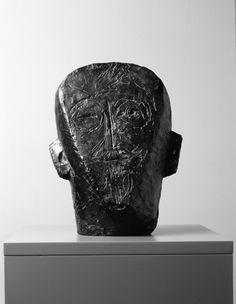 Alberto Giacometti (Swiss, 1901 - 1966),The father of the artist, 1927, Bronze