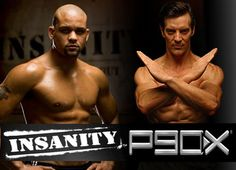 My ABSOLUTE favorite trainers!!!! Shaun T, Thanks for kicking my butt with insanity. I'm digging deeper! Tony, you are amazing. After INSANITY I'm bringing it again ;)