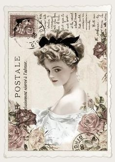 Wonderful Ribbon Embroidery Flowers by Hand Ideas. Enchanting Ribbon Embroidery Flowers by Hand Ideas. Decoupage Vintage, Vintage Diy, Vintage Labels, Vintage Ephemera, Vintage Cards, Vintage Paper, Vintage Postcards, Vintage Style, Ideas Vintage