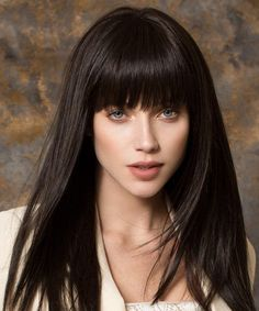 Full Fringe Long Hairstyles for Women to Get A Modish Look