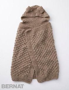 Squirreled Away Baby Blanket | AllFreeKnitting.com