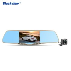 Blackview car camera rearview mirror 170 degree car dvrs dual lens dash cam recorder video camcorder full HD 1080p drop shipping