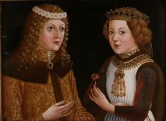 Wedding painting of Ladislaus and Magdalena
