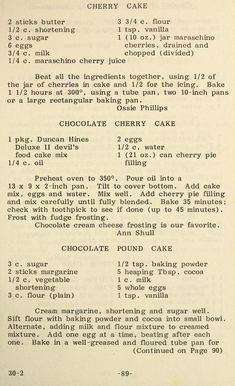 Cooking the Pritchard way Retro Recipes, Old Recipes, Vintage Recipes, Cookbook Recipes, Baking Recipes, No Cook Desserts, Delicious Desserts, Dessert Recipes, Cocktails
