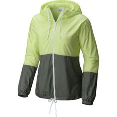 Columbia Flash Forward Lined Windbreaker ($45) ❤ liked on Polyvore featuring activewear, activewear jackets, columbia sportswear, columbia and columbia activewear