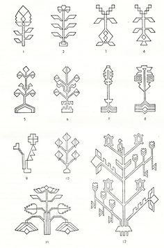Symbols and ornamental motives in folk art of Moldova - Photo gallery Folk Embroidery, Embroidery Patterns, Native Symbols, Islamic Patterns, Moldova, Diy Dress, World Cultures, Cross Stitch Designs, Persian Rug