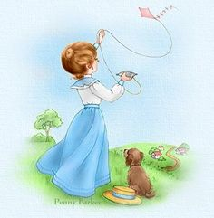 flying a kite Penny Wall, Violet Evergarden Wallpaper, Penny Parker, Go Fly A Kite, Tatty Teddy, Painting Patterns, Cute Quotes, Graphic Design Illustration, Painting & Drawing