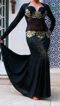 traje completo para danzas orientales