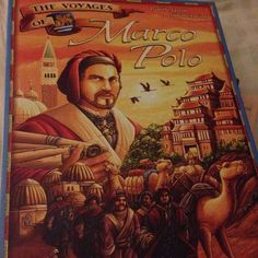 Family fun games night and first up was Marco Polo which was a fun Euro game which I managed to sneak a win in. #GamesNight #HappyPlace #MarcoPolo