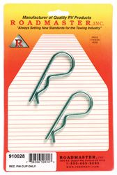 Roadmaster 910026 Safety Pin with Clasp 2 Pack