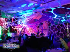 Sonic Vision is a decor company that manufactures, sells and hires Stretch Decor, Stretch Sets, Stretch Tents, Party Decor and Lighting. Decor for hire or sale! We are the Stretch Decor Manufacturer. Tensile Structures, Event Decor, Stretch Fabric, Stretches, Tents, Dance, Bar, Teepees, Dancing