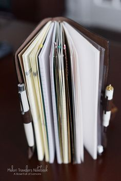Are you a list maker? Keep your lists, notes and random pieces of paper in one spot with this awesome notebook and system. Via A Bowl Full of Lemons