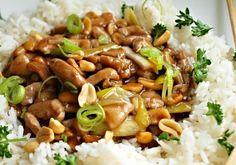 Kuřecí kung pao z letáku Albert No Salt Recipes, Keto Recipes, Chicken Recipes, Cooking Recipes, Slovak Recipes, Czech Recipes, Asian Recipes, Ethnic Recipes, No Cook Meals