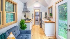 The Most Stunning Willowbee Tiny Farm House Cottage for Sale - YouTube
