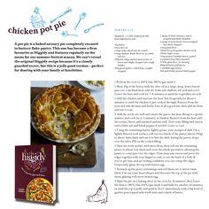 Chicken Pot Pie taken from The Higgidy Cookbook
