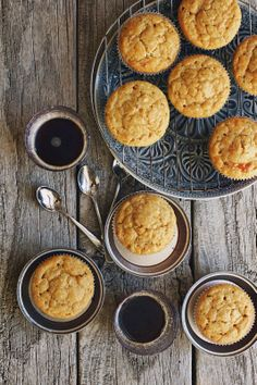 Brown Sugar Lemon Mascarpone Muffins