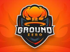 Dribbble - Ground Zero Logo Design by Mason Dickson