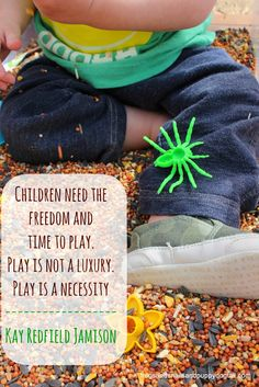 children play quote