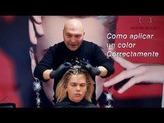 Colorimetría TOTAL - Como realizar una decoloración SIN maltratar el cabello virgen. Parte 1 - YouTube