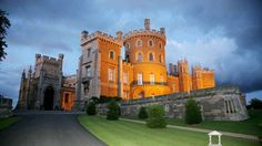Belvoir Castle Images from Elysian Estates ~ Belvoir Castle is quite simply one of the most magnificent castles in the UK. The awe inspiring approach gives the first glimpse of this vast castle