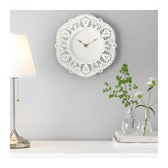 IKEA - SKURAR, Wall clock, Highly accurate at keeping time as it is fitted with a quartz movement. Wall Clock Ikea, Ikea Wall, Ikea Reno, Ikea Skurar, Ikea Us, Inexpensive Furniture, Big Girl Rooms, Furniture Decor, Home Furnishings