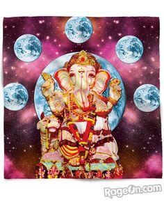 Om Gan Ganapataye Namaha Bandana - RageOn! - The World's Largest All-Over-Print Online Store