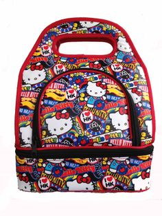 902363c28d5 Hello Kitty Insulated Lunch Bag,