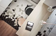 An Apartment Renovation for Family Gatherings - Design Milk Apartment Renovation, Apartment Design, Apartment Interior, Loft Industrial, Charming House, White Interior Design, Floor Ceiling, Tile Floor, Contemporary Apartment