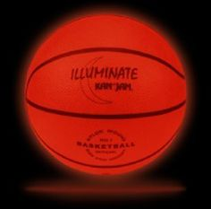 Kan Jam ILLUMINATE Ultra-Bright LED Light-Up Glow Basketball (Official Size and Weight)