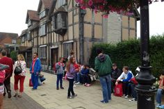 İhlas Koleji İngiltere Yaz Kampı Shakespeare'ın evi