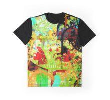 Wondering Star Grafik T-Shirt