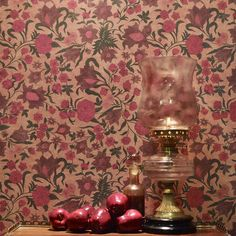 'Gulbadan' designed by Sabyasachi for Nilaya | Painstakingly hand rendered and printed this wallpaper